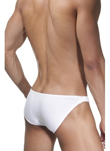 Dark Zone Slim Fit Slip Beyaz